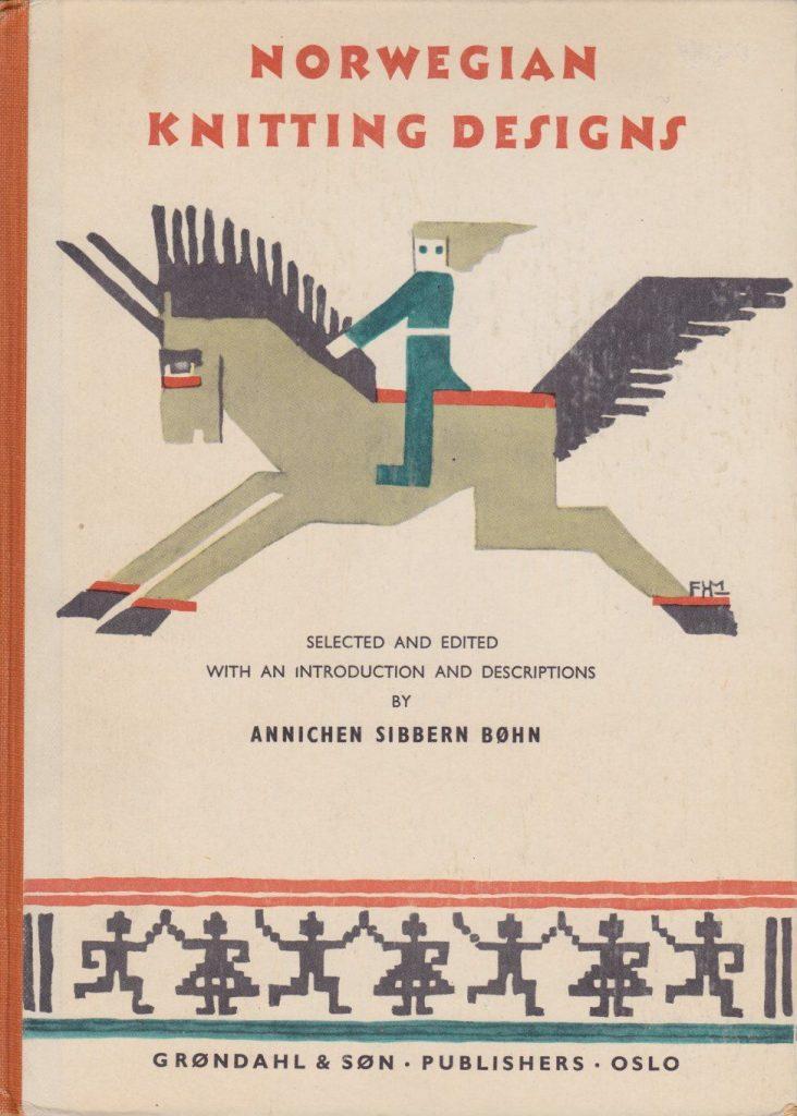 Boken til Annichen Sibbern Bøhn, gammel strikkebok